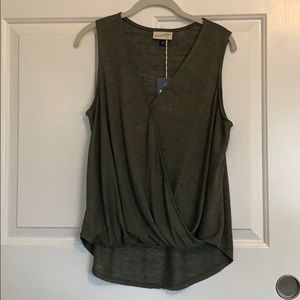 NWT Olive Tank Top